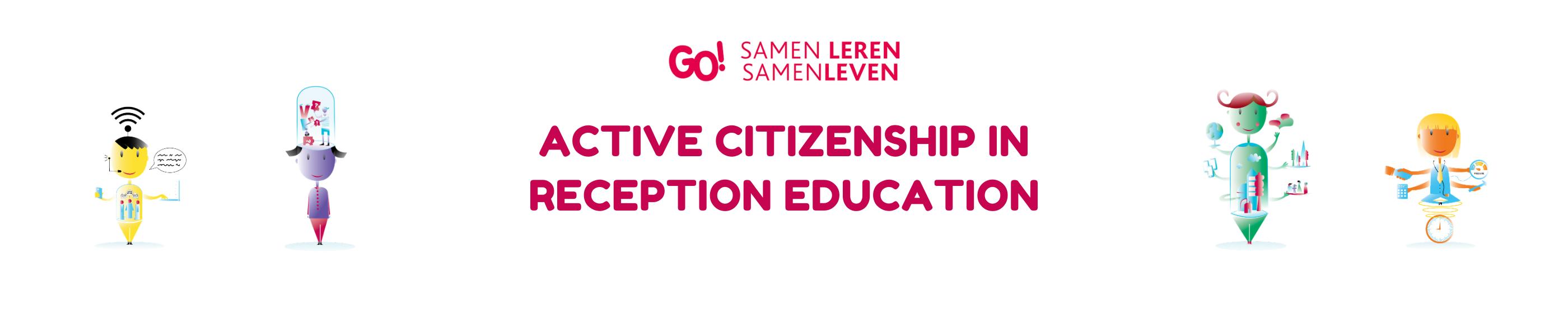 Actief burgerschap in OKAN Logo